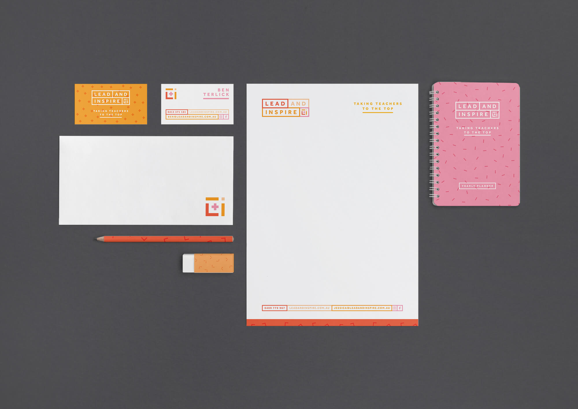 Lead and inspire stationary
