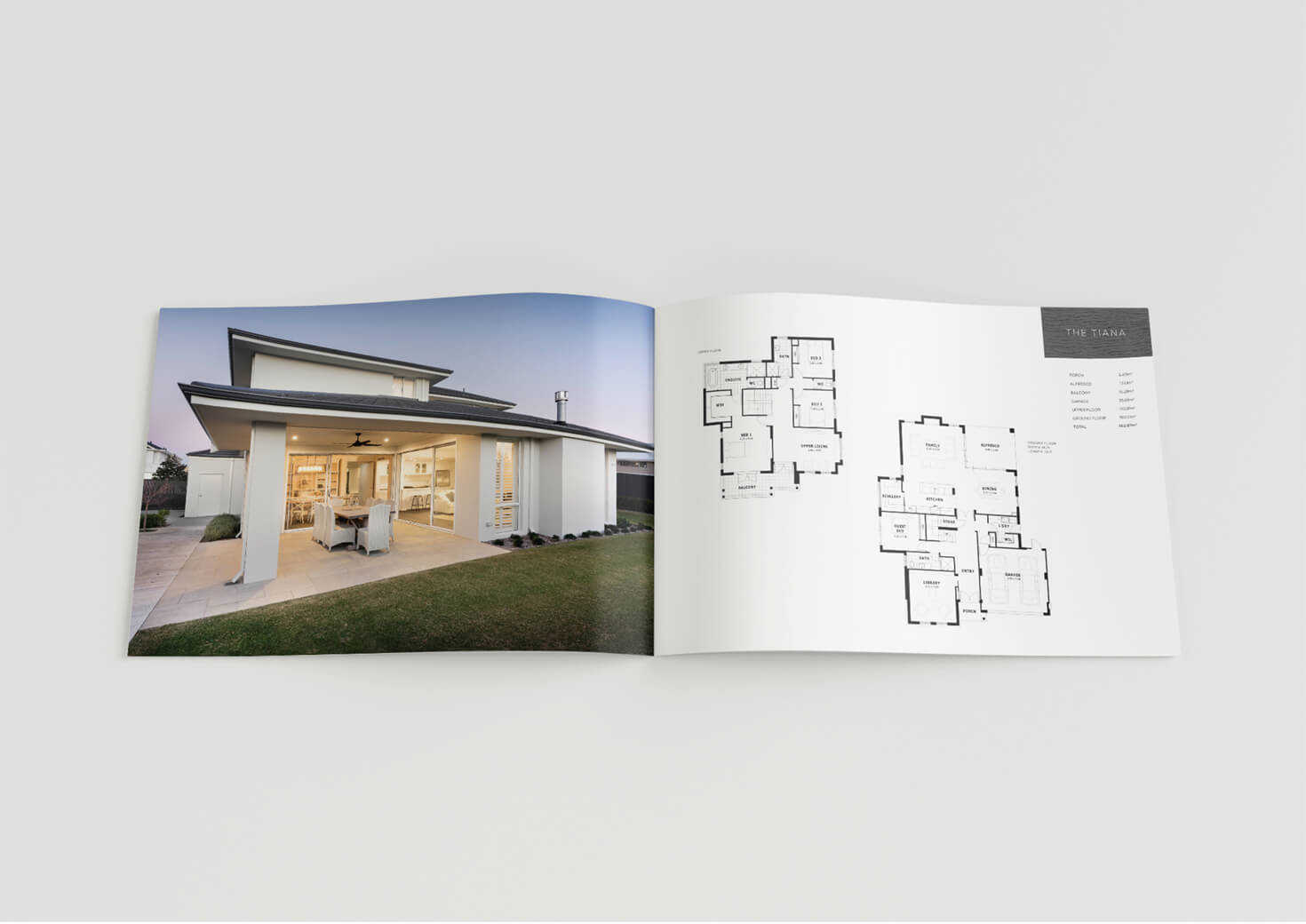 Coast homes brochure design