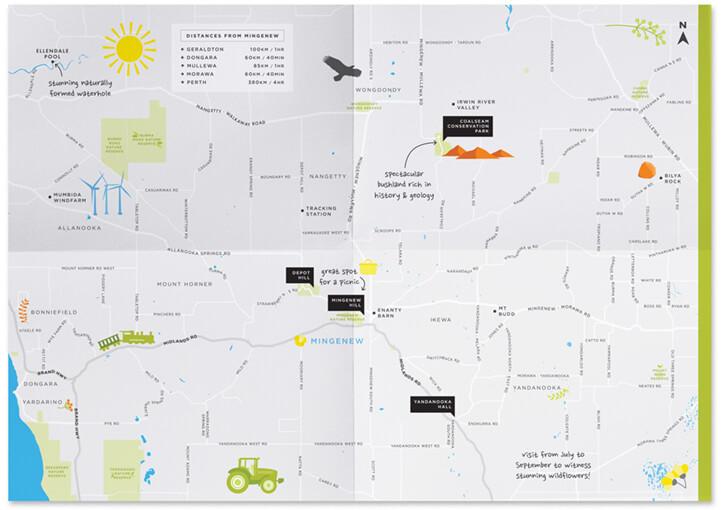 Mingenew shire map