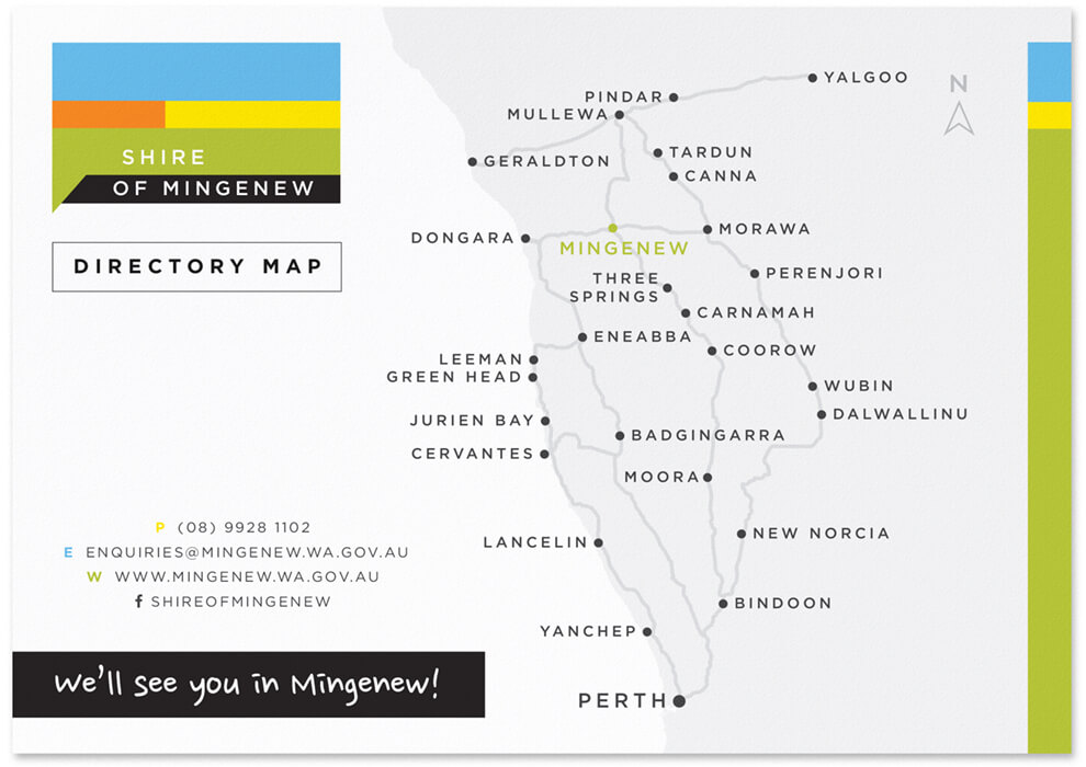 Shire of Mingenew directory map