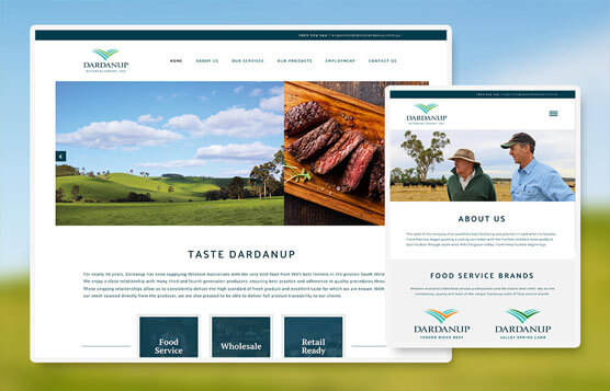 Taste Dardanup website